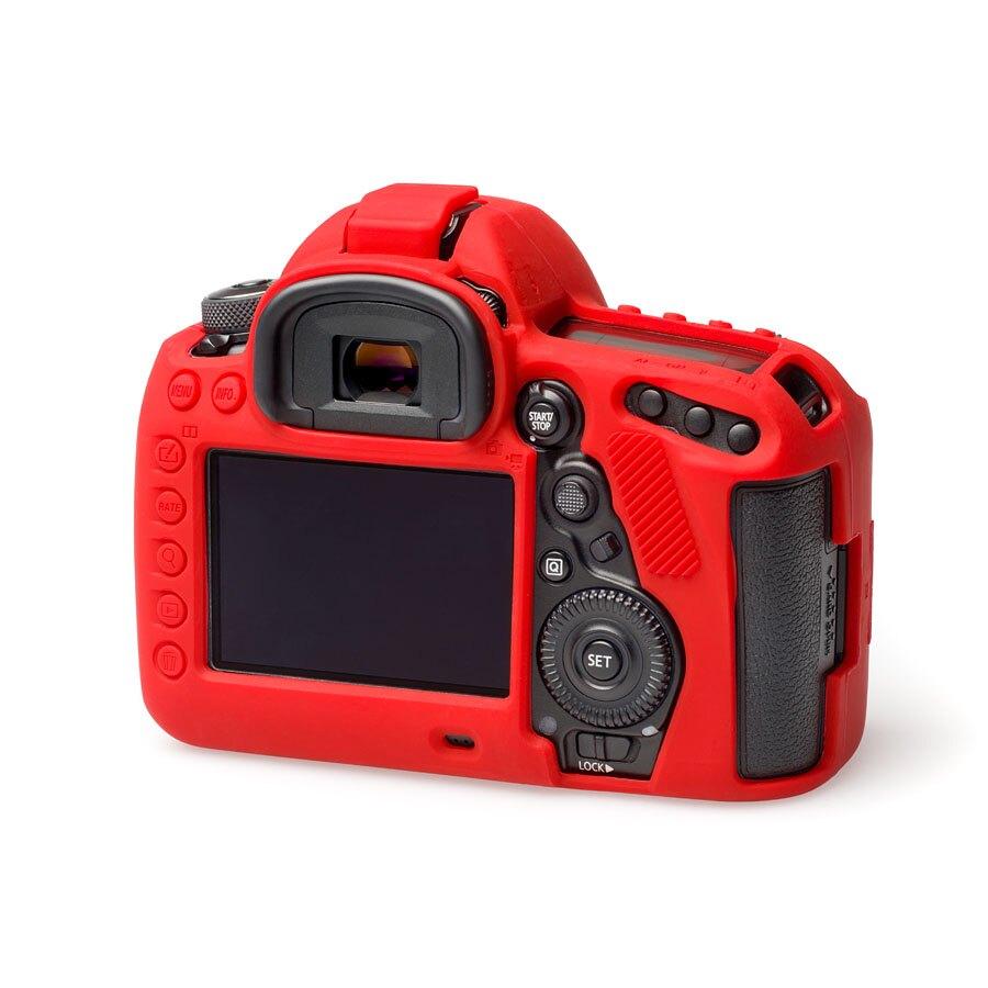 easyCover 金鐘套 相機保護套 矽膠套 適用Canon 5DIV 5D4 黑色 紅色 迷彩色 公司貨