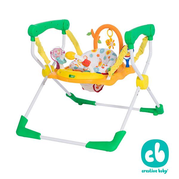 Creative Baby 創寶貝-快樂樂園新一代易收納 兒童彈跳椅