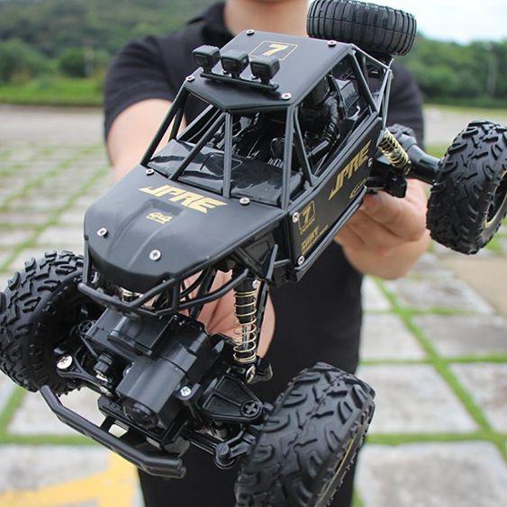 遙控車超大RC遙控汽車越野車四驅高速攀爬賽車無線男孩子充電兒童玩具車