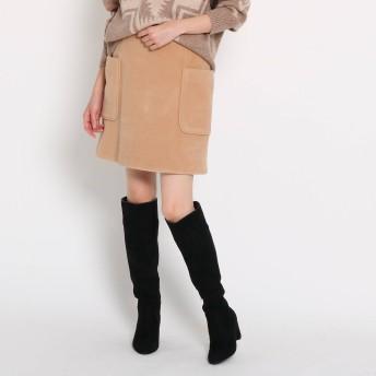 AG by aquagirl(エージーバイアクアガール)/【GISELe12月号掲載/Lサイズあり】ビッグポケットミニスカート