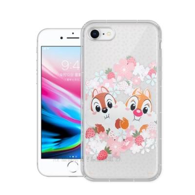 迪士尼授權 櫻花系列 iPhone 8/7 4.7吋 空壓防護手機殼(奇奇蒂蒂)
