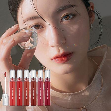 韓國 Rom&nd 潤澤水光唇釉 4g 亮面 唇釉 唇蜜 唇彩 Romand 琉璃水光染唇釉
