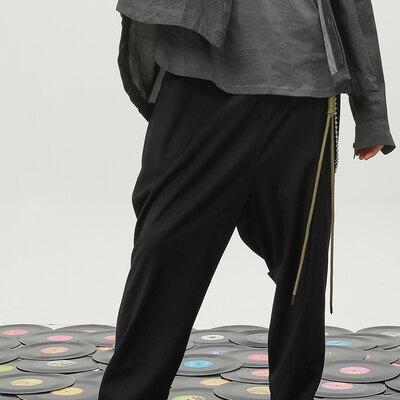 褲鏈 PVCINC 19AW 民族風編織金屬組合雙層圓珠褲鏈子潮流百搭『MY1600』