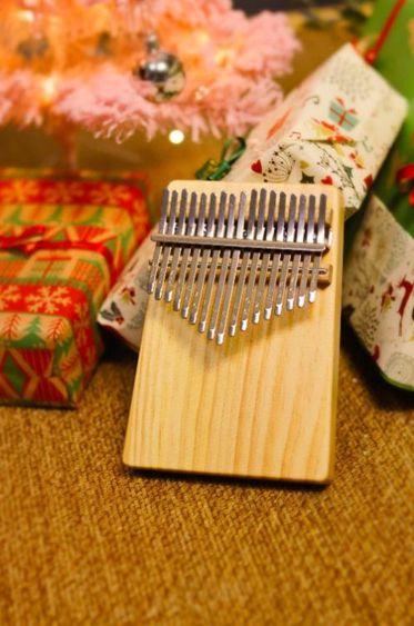 拇指琴拇指琴宋小小北美松木板式初學者女生男生小眾樂器便攜卡林巴手琴
