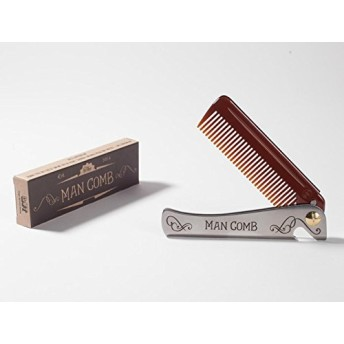 Man Comb. The Ultimate Tool for your Hair, Beard and Beer. by DAFT Design And Fresh Thinking