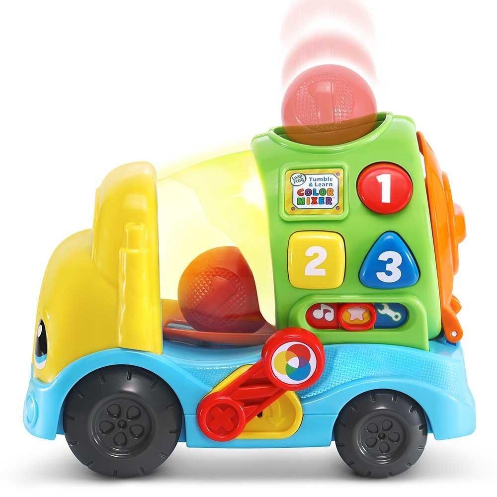 美國 LeapFrog 跳跳蛙 Tumble & Learn Color Mixer 繽紛滾色車