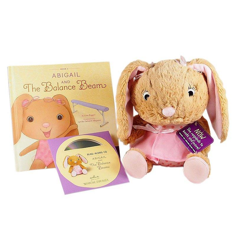 艾比兔與互動童書(附CD)【Hallmark-禮品】