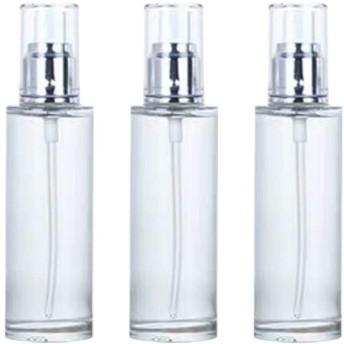 TOPBATHY 3ピース空ポンプスプレーボトル旅行石鹸ボトルプラスチックディスペンサーボトルクリーニング旅行化粧品包装80ミリリットル