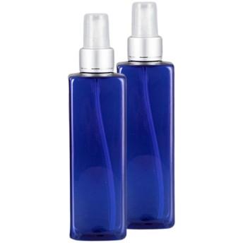 Perfeclan 2個 ディスペンサー ポンプボトル スプレーボトル 詰替え容器 空ボトル 250ML 漏れ防止 全4色 - 青い