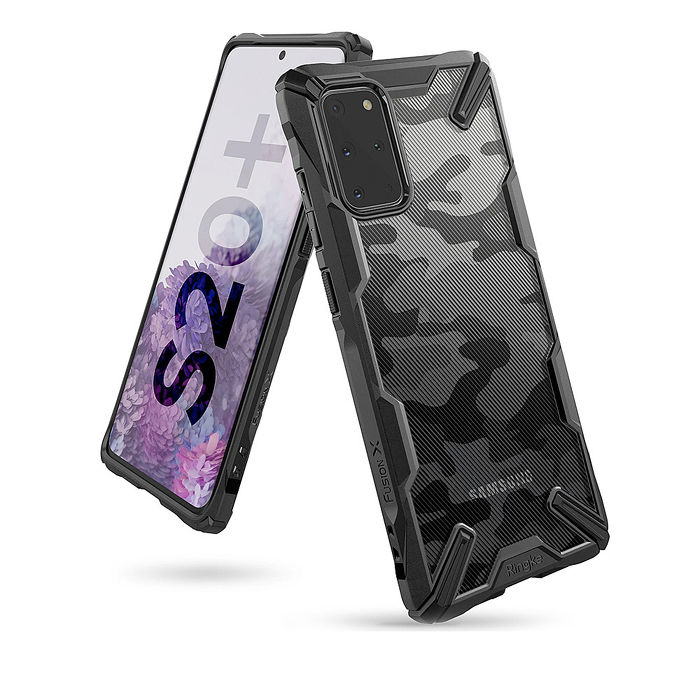 Rearth Ringke Samsung Galaxy S20+ Ringke Fusion X 迷彩抗震保護殼
