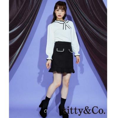 titty&Co.下擺荷葉邊褲裙 (3色)
