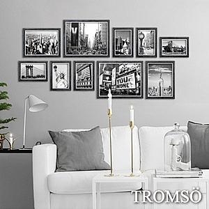 TROMSO 都會北歐10框 灰木紋 時代紐約