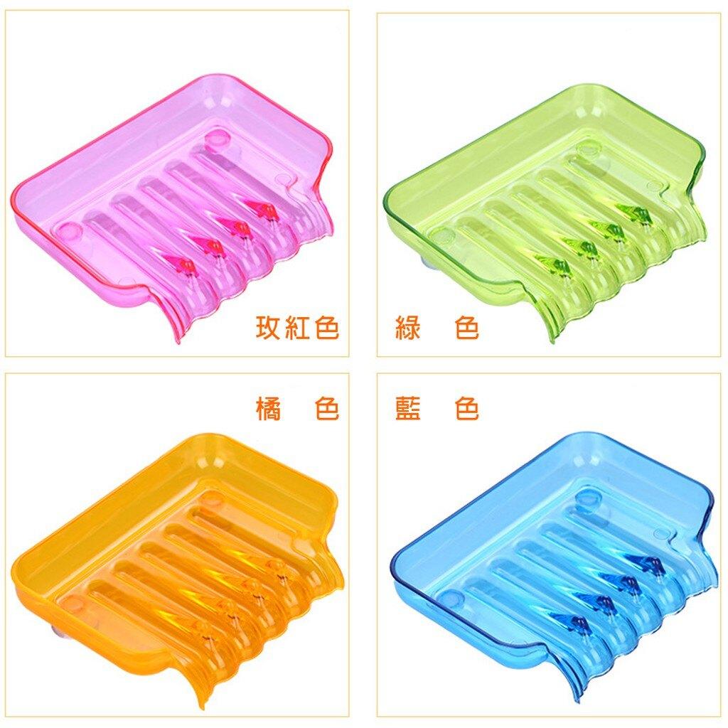 台灣現貨 吸盤瀝水肥皂盒 浴室 廚房 創意濾水肥皂盒 吸盤式海綿收納盒 香皂盒 肥皂濾水盒 瀝水肥皂置物架