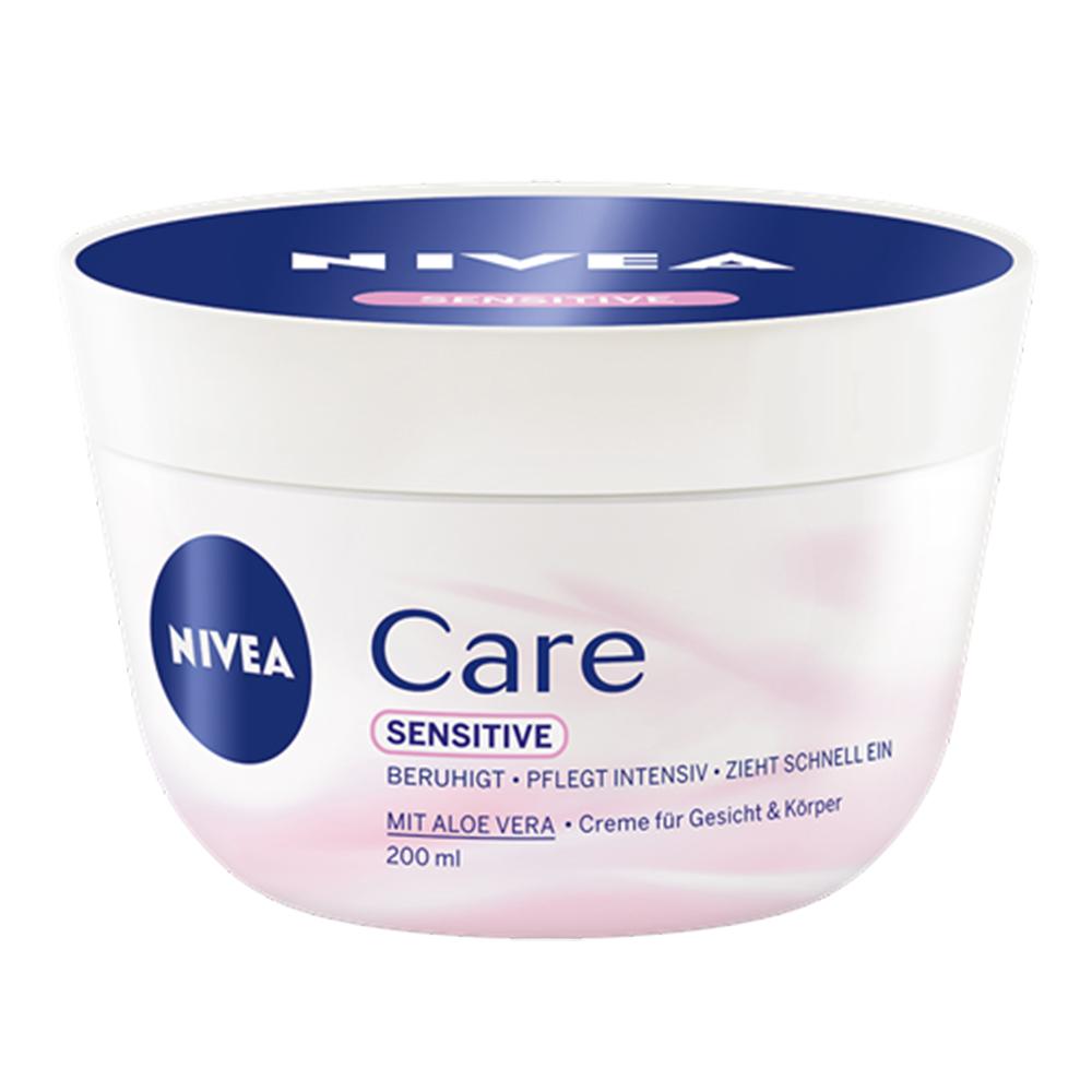 NIVEA妮維雅 全方位潤膚霜 敏感肌 200ml