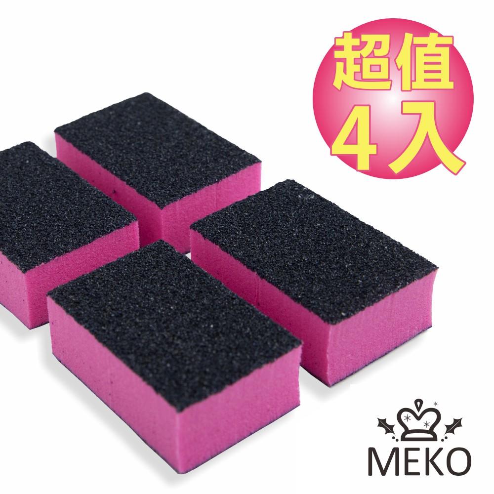 MEKO 拋棄式海綿砂塊 4入