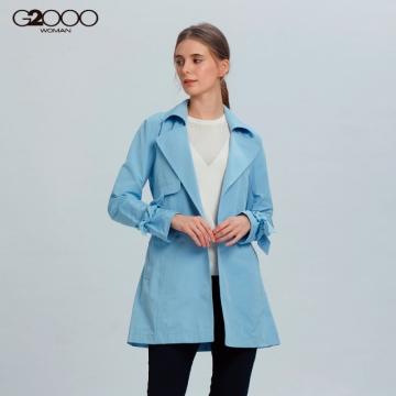 G2000格紋外套-藍色