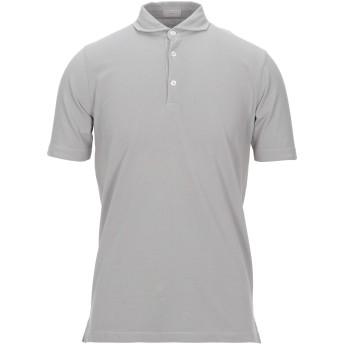 《セール開催中》ALTEA メンズ ポロシャツ グレー M コットン 100%