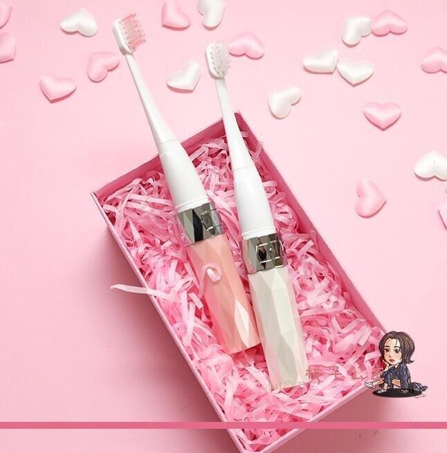 電動牙刷 貓咪電動牙刷ACS男女非充電式聲波自動小頭軟毛情侶 2色