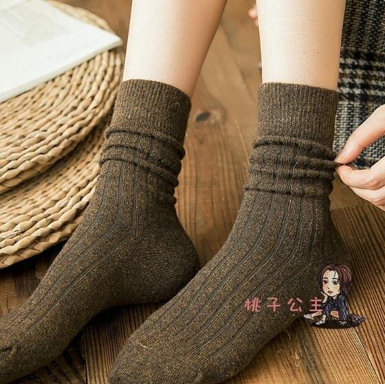 堆堆襪 襪子女冬季加厚韓國棉日系中筒襪秋冬潮長筒襪黑色堆堆襪女 多色