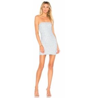 スーパーダウン superdown レディース ワンピース ワンピース・ドレス Charlize Lace Strapless Dress Light Blue
