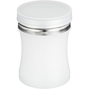 ポリエチレン 鼓型 調味缶 小 パウダー缶(ポリ蓋付)φ57×H80