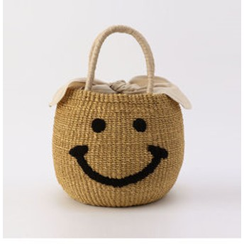 【NOLLEY'S:バッグ】【a-jolie/ アジョリー】スマイルかごバッグ