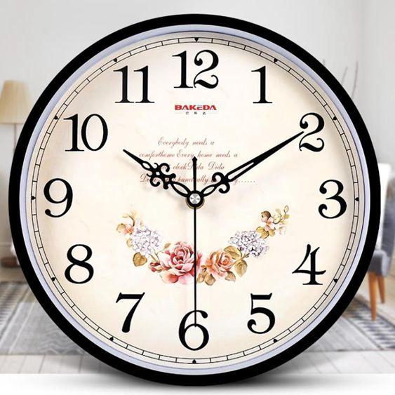 掛鐘客廳現代簡約個性時鐘家用靜音創意時尚掛錶石英鐘