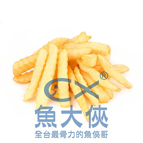 1I1B【魚大俠】FF276麥肯1/2波浪薯條(2kg/包)#麥肯OIF04693