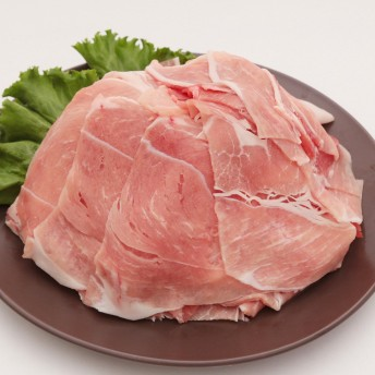 加茂川 梅肉豚 モモ切り落とし 1000g(200g×5パック) 梅肉ポーク
