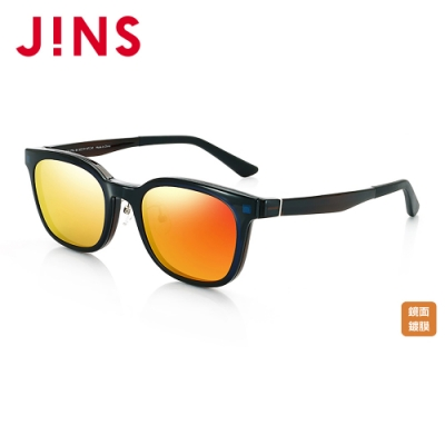 JINS Switch 磁吸式兩用鏡框-鏡面鏡片(AMUF17S317) 黑色