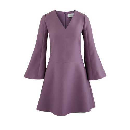 Dress with loose sleeves