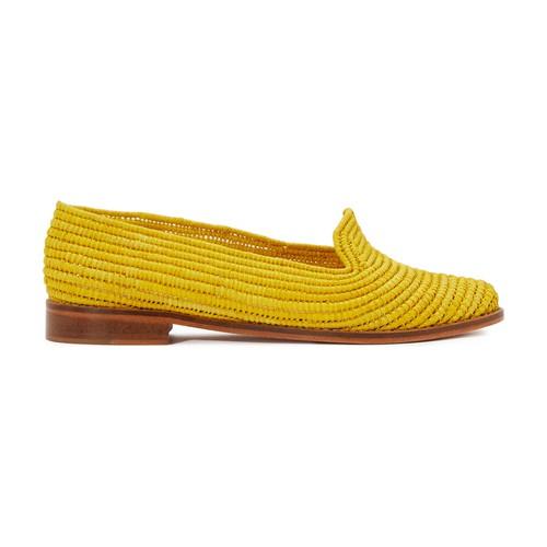 Ines raffia loafers