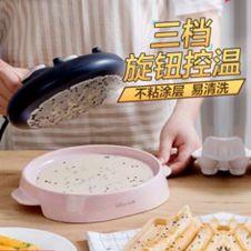 小熊薄餅機家用小型博餅春餅機春捲皮電餅鐺千層皮烙餅鍋煎餅神器