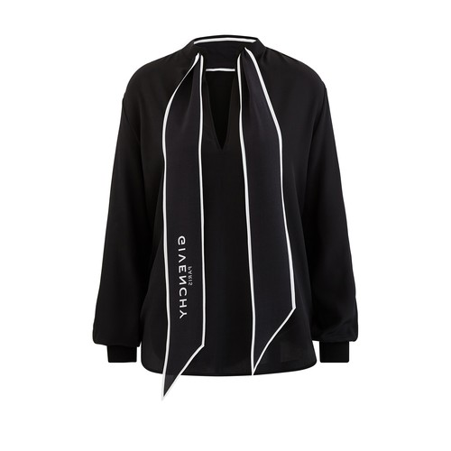 Shirt with Givenchy scarf