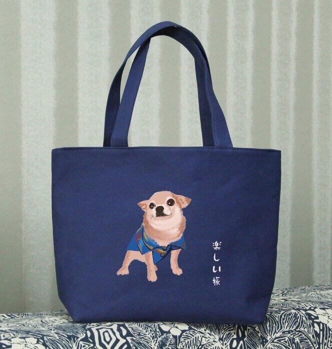 【鸚鵡笑笑】 環保帆布袋 手提袋  購物袋  環保袋