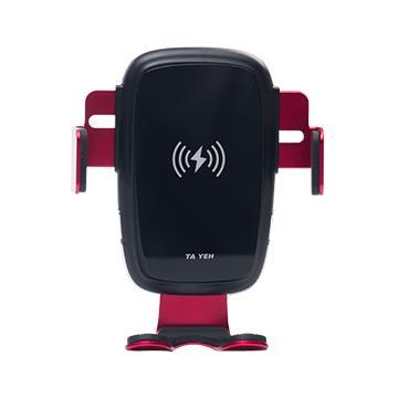 【安伯特】無線充電手機架-紅 附頭枕(AA300132+AA130078)