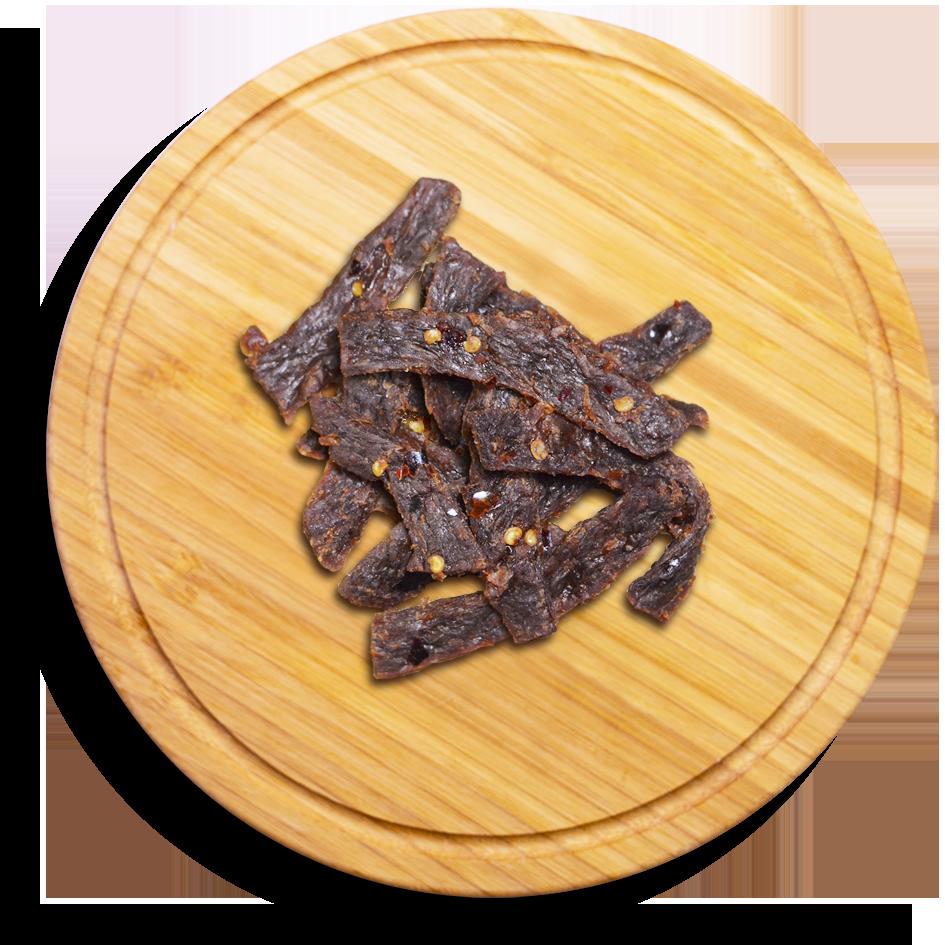 黑貓肉乾 麻辣口味素蹄筋 250公克5%