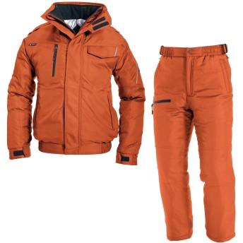 (バートル) BURTLE スマートデザイン 防寒着 上下セット(防寒ブルゾン+防寒パンツ) (7210,7212) マーベリック LL