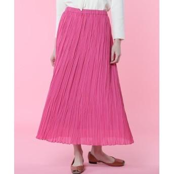ef-de L/エフデ(エルサイズ) 《大きいサイズ》プリーツスカート《Maglie par ef-de》 ピンク1 13