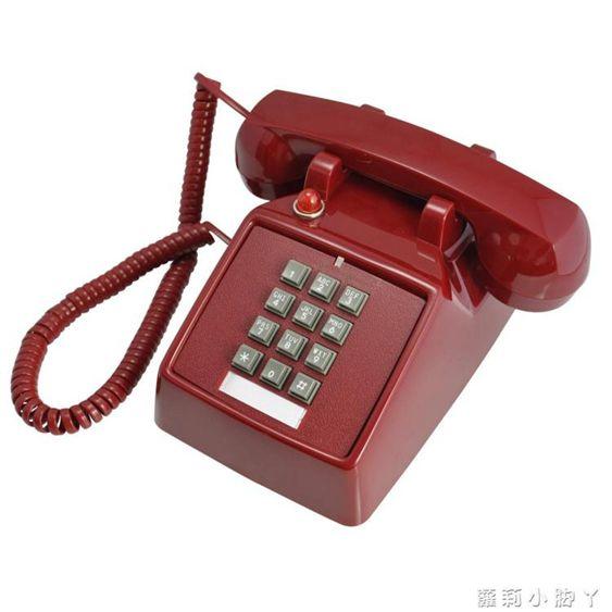 復古電話機比特老式復古機械鈴創意仿古辦公固話座機家用懷舊古董美式電話機NMS