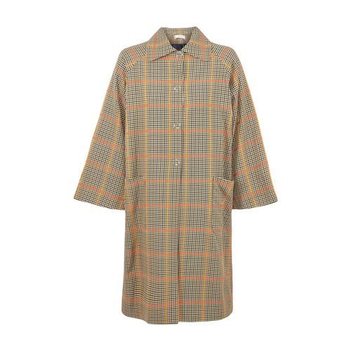 Chequered coat