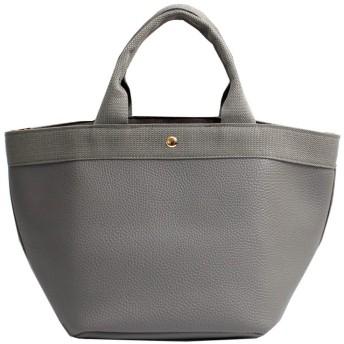Luxe mimosa(リュクスミモザ)バッグレディース ショルダーバッグ 2way ハンドバッグ マザーバッグ カバン 女性 ショルダー付き 鞄 バック カジュアル (グレー)