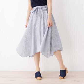 SHOO・LA・RUE/DRESKIP(シューラルー)/【WEB限定サイズあり】イレヘム共ベルト付きスカート