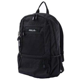【MILKFED.:バッグ】【定番】EMBROIDERY BACK PACK BAR Jr