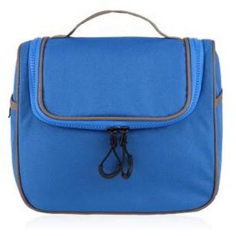 化粧品袋、出張化粧品袋、ポータブルシンプルな多機能カラー収納袋、屋外フィットネス大容量防水ウォッシュバッグ (Color : Apricot)