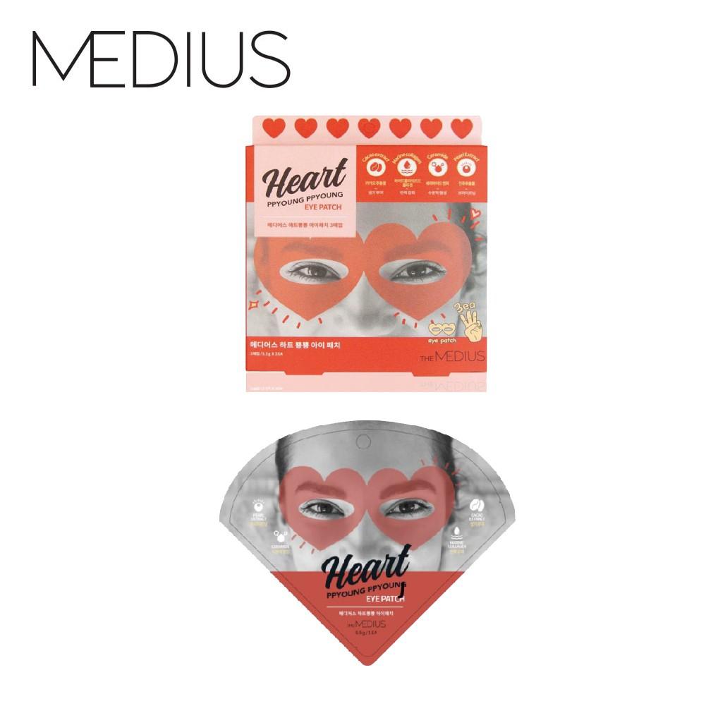 【MEDIUS】愛心怦怦眼膜3入