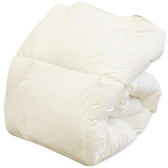 掛け布団 シングル ホワイトグースダウン50%混合 大増量1.5キロ 羽毛布団に負けないふっくら暖かさ 来客用布団にも恥がしくない品質!掛け布団 抗菌 防臭 羽毛布団 グース ふとん コスパと暖かさのバランスを!