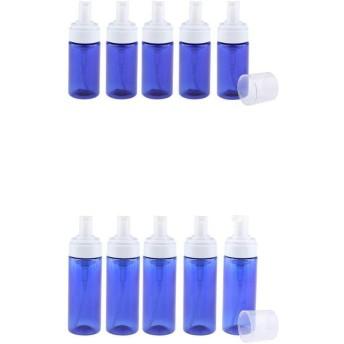 ポンプボトル 泡 詰替ボトル 泡立ち 石鹸ディスペンサー 化粧品ボトル 再利用可能