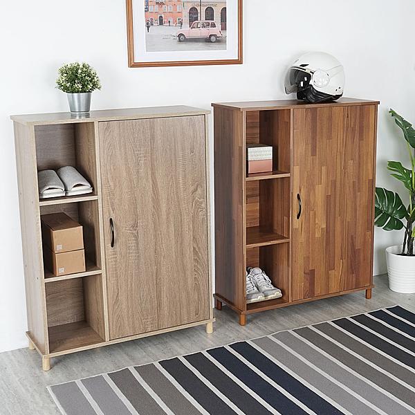 YoStyle 日和半開放鞋櫃(二色) 置物櫃 收納櫃 櫥櫃 展示櫃