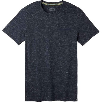 Smartwool(スマートウール) トップス Tシャツ Smartwool Men's Everyday Exploration Poc Deep Navy メンズ [並行輸入品]
